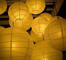 lanterns 2 by Bruce  Dickson