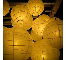 lanterns 2 Photographic Print