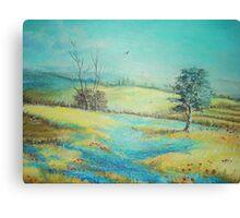 Lavanda Field Canvas Print