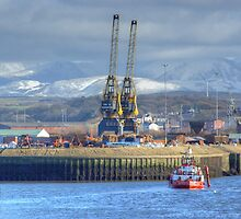 The Port Of Workington by VoluntaryRanger