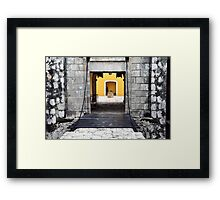 Drawn Open Framed Print