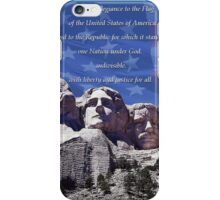 I Pledge of Allegiance iPhone Case/Skin