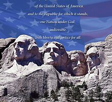 I Pledge of Allegiance by Edmond  Hogge