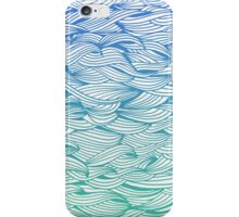 Ombré Waves iPhone Case/Skin