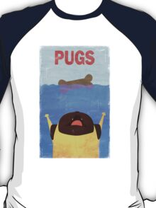PUGS Fake Movie Poster T-Shirt