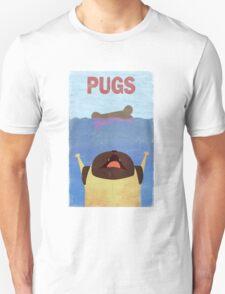 PUGS Fake Movie Poster T-Shirt