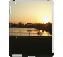 Sunset Over Willow Lake iPad Case/Skin