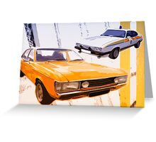 Cops & Robbers Greeting Card