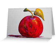 Kaleidoscope Apple or APPLE FOR THE TEACHER Greeting Card