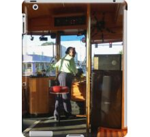 Driving The Cable Car iPad Case/Skin