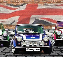 Mini Cooper Trio  by ImageMonkey