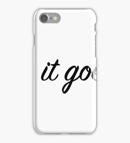 So it goes. iPhone Case/Skin