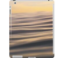 Gentle Ripples on the Surface iPad Case/Skin