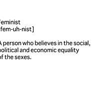 Feminist Definition by elliegillard