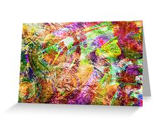 Abstract Bouquet. Greeting Card