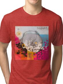 You Look At Me & I Look At You. Tri-blend T-Shirt
