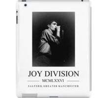 Joy Division  iPad Case/Skin