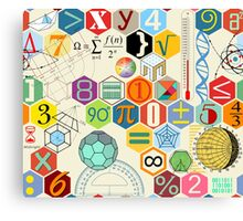MATH! Canvas Print