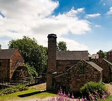 Cheddleton Flint Mill by David J Knight