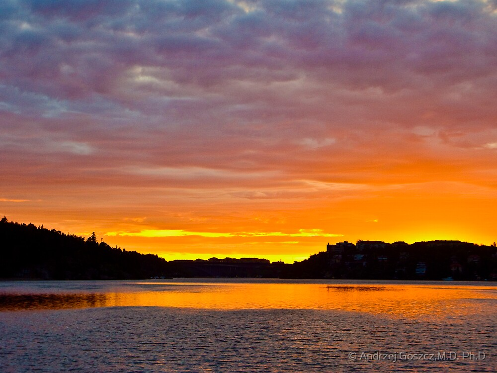 Very eye-catching   ########  Sunrise Stockholm . ##### (Sweden) . 2006. by Brown Sugar .Fav 5 Views: 597. Thanks !!! by © Andrzej Goszcz,M.D. Ph.D
