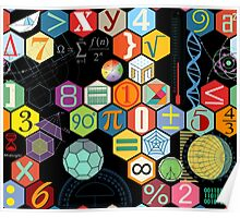 Math in black! Poster