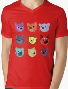 world wildlife Mens V-Neck T-Shirt