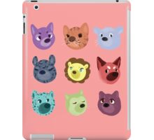 world wildlife iPad Case/Skin