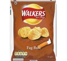 Walkers for Dogs - Fag Butt flavour iPad Case/Skin