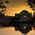 Jefferson Memorial Sunrise by mpr131