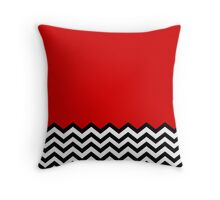 Black Lodge Dreams Throw Pillow