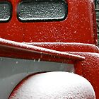 Snow on the Fender by Virginia Kelser Jones