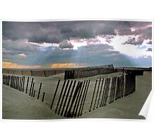 Jones Beach, New York. 1975 Poster