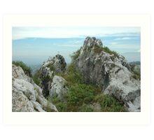 karst mountain Art Print