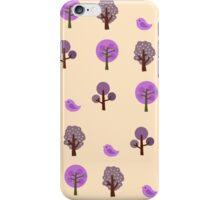 Little Nature Purple iPhone Case/Skin