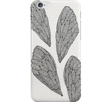 Black Cicada Wings iPhone Case/Skin