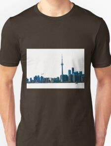 Toronto Skyline Graphic with Rogers Centre Unisex T-Shirt