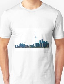 Toronto Skyline Graphic with Rogers Centre T-Shirt