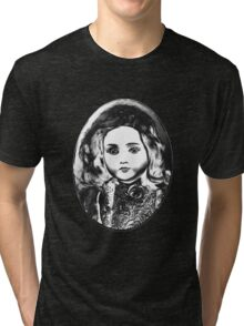 Antique doll Tri-blend T-Shirt