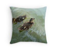 Danish Ducklings  Throw Pillow
