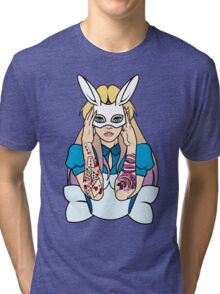 Alice - Alternative Tri-blend T-Shirt