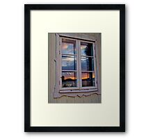 My look back in the mirror . Brown Sugar . Views (397) Thanks !!! Framed Print