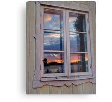 My look back in the mirror . Brown Sugar . Views (397) Thanks !!! Metal Print