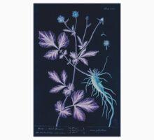 A curious herbal Elisabeth Blackwell John Norse Samuel Harding 1739 0010 Avens or Herb Bennet Inverted Kids Tee