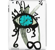 Moment notebook - time iPad Case/Skin