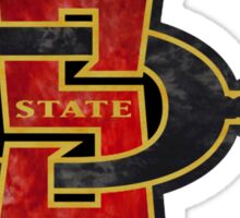 San Diego State Logo Sticker
