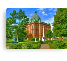 Grant County Courthouse Canvas Print