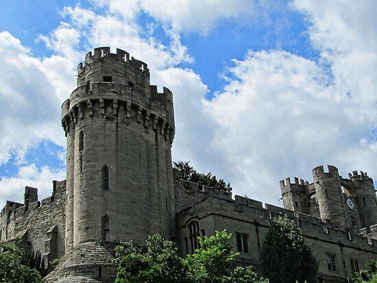 Warwick Castle - England by Audrey Clarke
