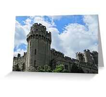 Warwick Castle - England Greeting Card