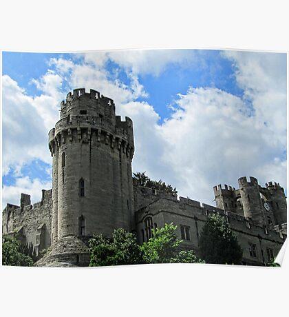 Warwick Castle - England Poster
