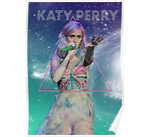 Butterfly Katy Galaxy Poster